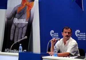 Fernando González en conferencia de prensa. Foto: Ismael Francisco/Cubadebate.