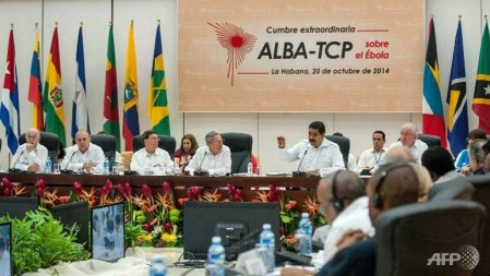 alba summit on ebola 2