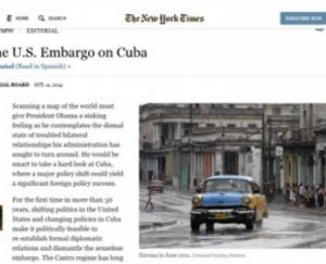 fidel comments on nyt article oct 2014