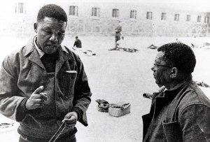 mandela and sisulu in prison