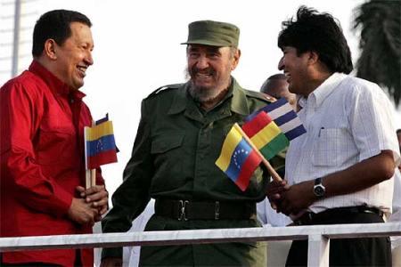 Hugo Fidel y Evo