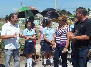 Asiste Ramón Labañino a actividades por el Cinco de Septiembre