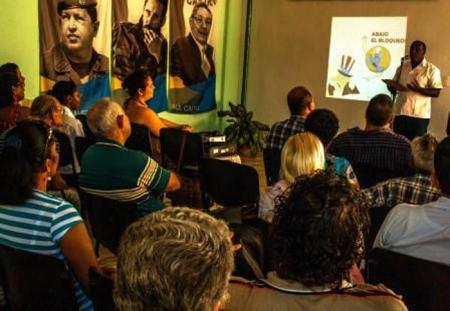 La sede del Instituto Cubano de Amistad con los Pueblos en Las Tunas fue el lugar escogido para que representantes de los diferentes sectores de la sociedad tunera condenaran el bloqueo contra Cuba, a 55 años de haber sido oficializado