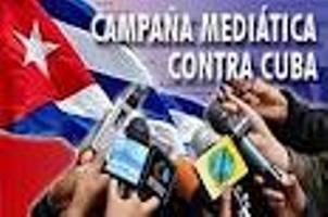 Resultado de imagen para Campañas mediáticas anticubanas contra Cuba